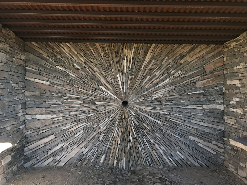 Santa Fe New Mexico Sangre de Christo Mountains Andy Goldsworthy Henry Rose UTSOA Austin Architect Architecture